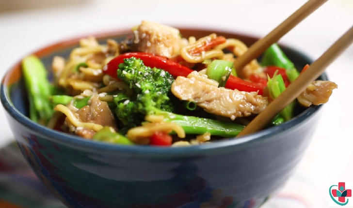 All-Time Best Dinner Recipe - 15 Minute Chicken Stir fry