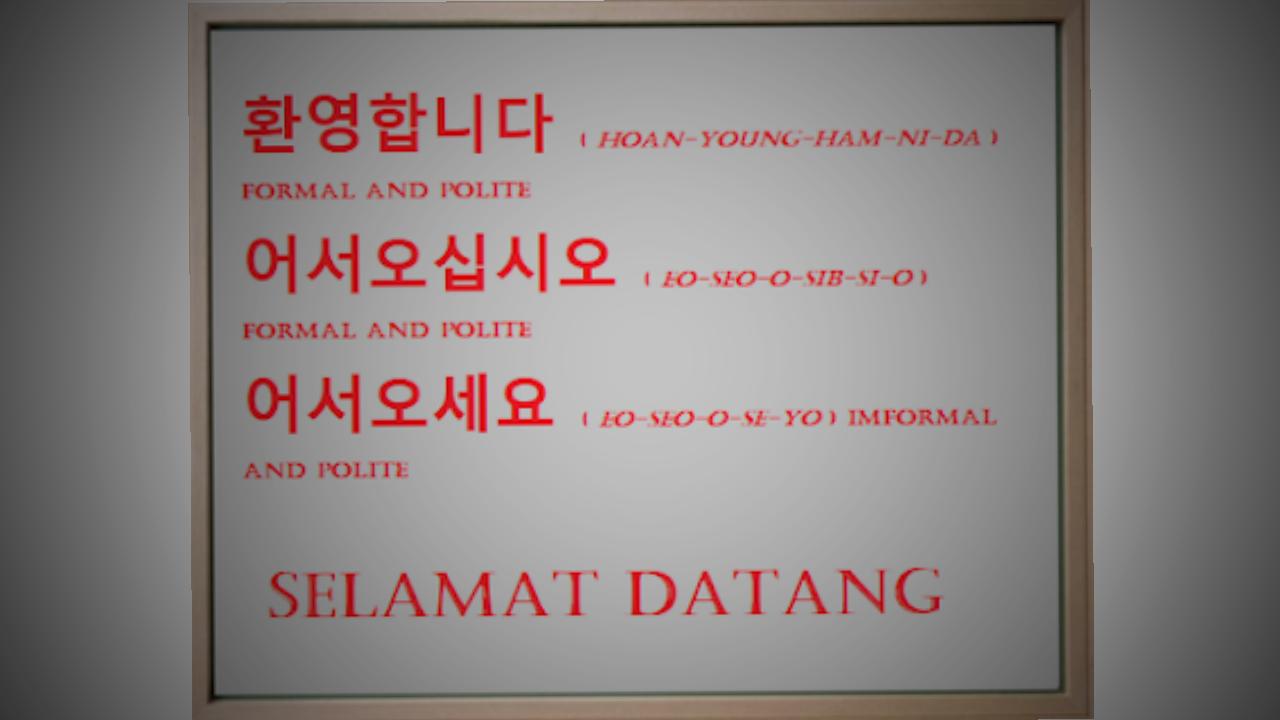Ucapan Selamat Datang Dalam Bahasa Korea Lengkap