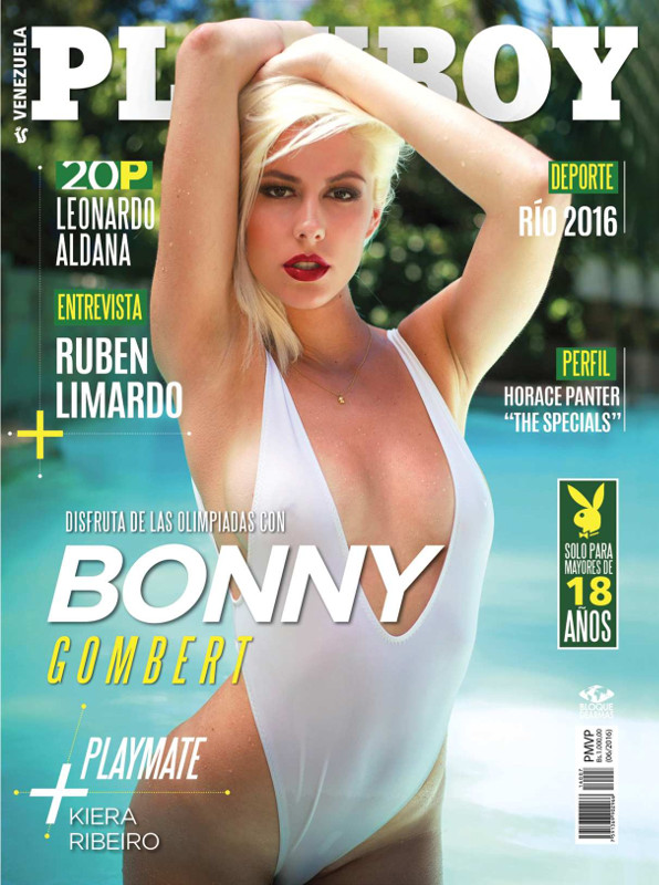 Bonny Gombert naked photos - Playboy Venezuela