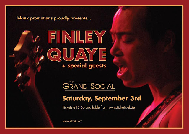 Finley Quaye The Grand Social Dublin Live