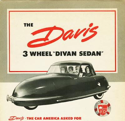 The Darvis 3-wheel Divan Sedan