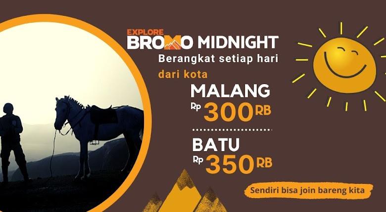 wisata Bromo setiap hari dari kota Malang dan Batu