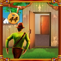 Play Top10NewGames Doors Escape Level 44