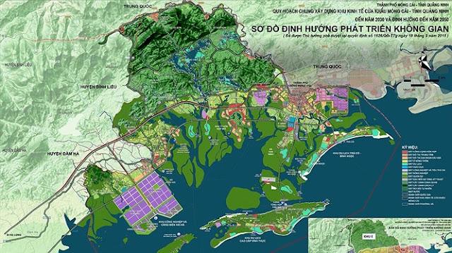 Dự án Khu đô thị phức hợp rộng 678ha sắp được triển khai tại Móng Cái