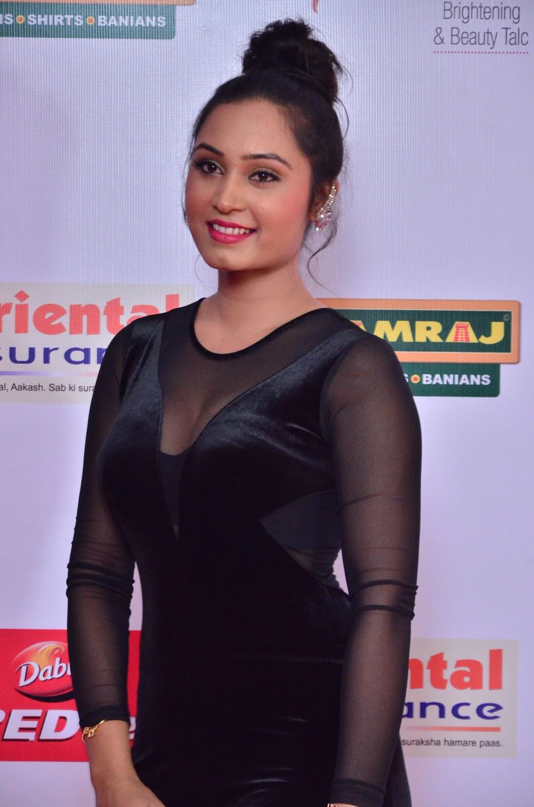 Actress Venila at Mirchi Music Awards South 2017 Stills