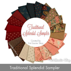http://www.fatquartershop.com/traditional-splendid-sampler-fat-quarter-bundle