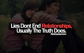 Relationship Quotes Lies Dont End Relationships
