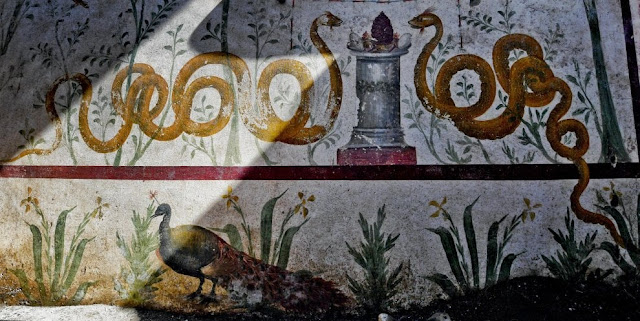 'Enchanted garden' discovered in Pompeii