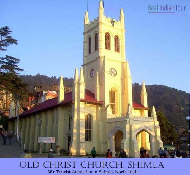 Shimla Attraction - Christ Church Shimla