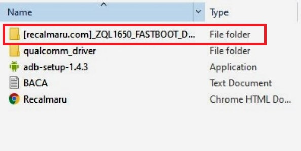 ZQL1650 FASTBOOT DOWNLOAD