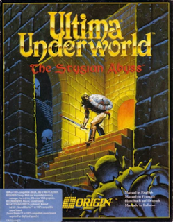 Ultima Underworld: The Stygian Abyss PC box art