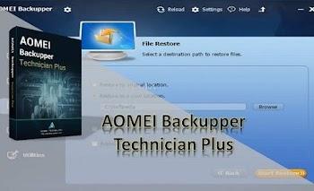 AOMEI Backupper Technician Plus 6.6.0 + Boot WinPE + Portable Download Grátis