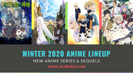 Winter 2020 List - Re:Zero Director's Cut, Haikyuu Season 4, Somali and the Forest Spirit, In/Spectre