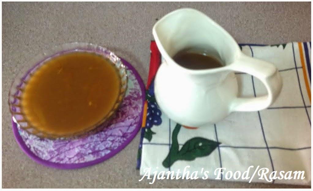 Ajantha's Food/Srilankan Style Rasam Recipe