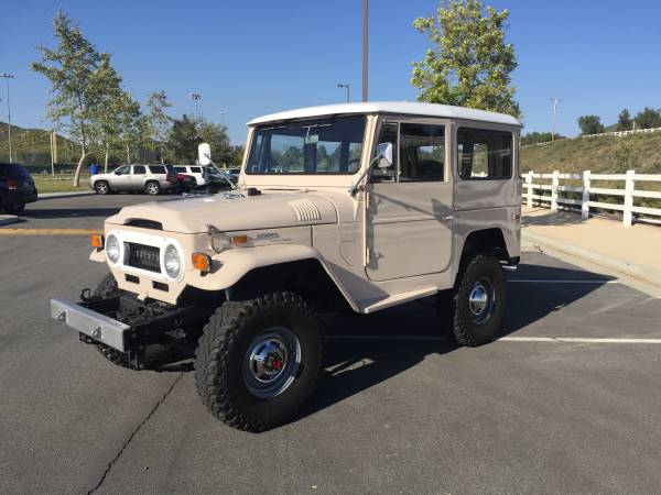 Land Cruiser FJ40 For Sale