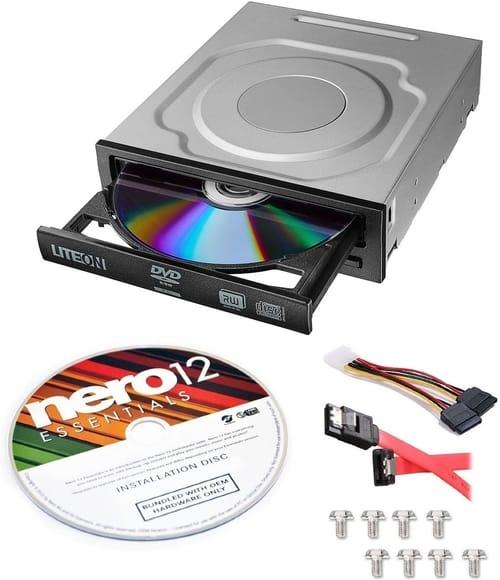 Review Lite-On IHAS124-04 24X SATA Internal DVD Optical Drive