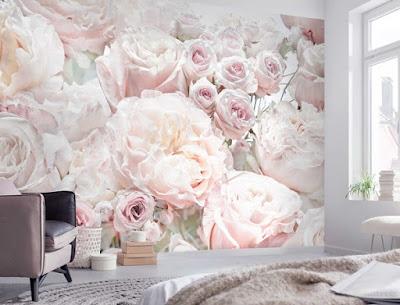 Fotomural Rosas