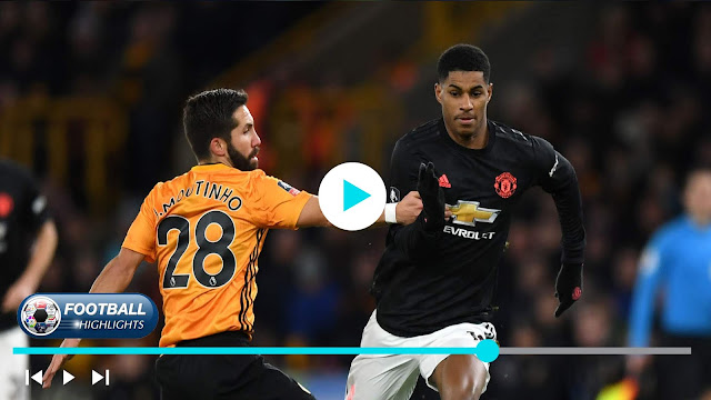 Wolves vs Manchester United Highlights