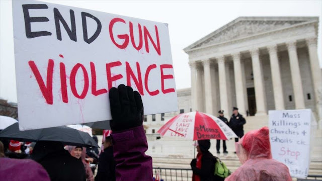 Estadounidenses piden medidas a favor del control de armas