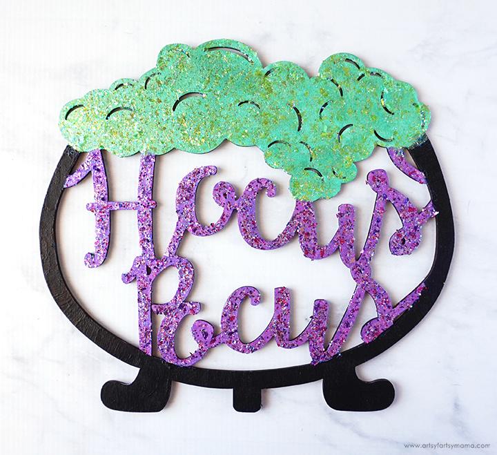 Painted Hocus Pocus Sign