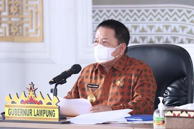 Gubernur Arinal Dorong Percepatan Vaksinasi dan Insentif Nakes di Kabupaten/Kota