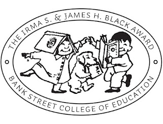 Logo for Irma S. and James H. Black Award, from the Bank Street College of Education