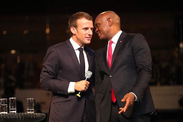 Macron embraces African entrepreneurship... Tony Elumelu Foundation (TEF) host vibrant session with nearly 2,000 entrepreneurs