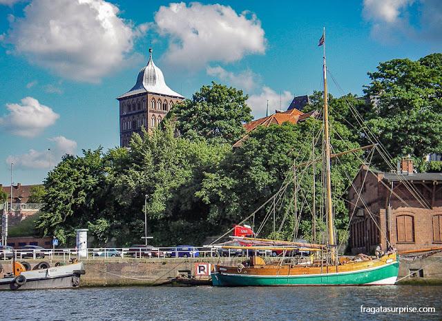 Lübeck, Alemanha, cidade de Thomas Mann e dos Buddenbrook