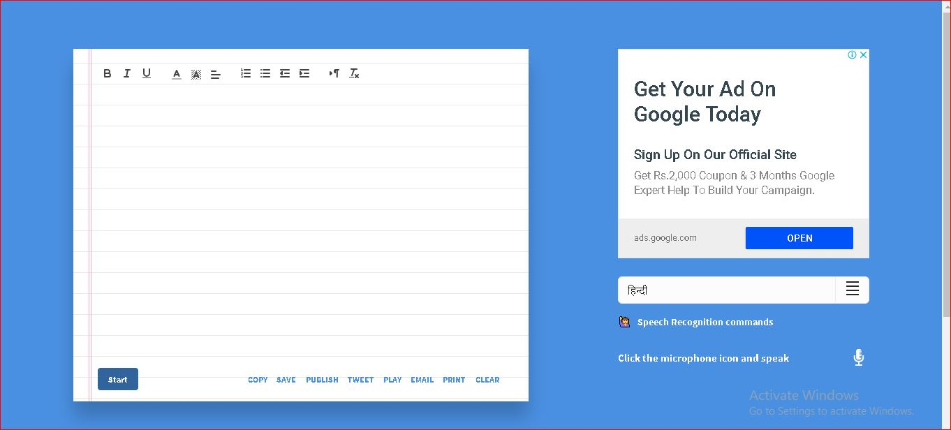 4 Best Online Tool For Voice To Text Online Typing
