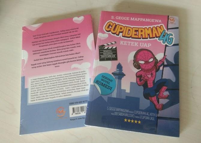 Novel Cupiderman 4G Lucu dan Semoga Segera di Filmkan