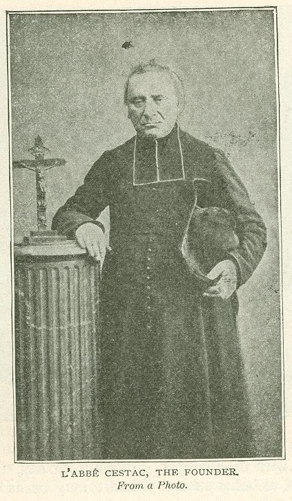 blaženi Louis (Alojz) Edouard Cestac - duhovnik in ustanovitelj