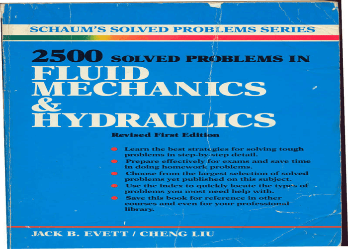 fluid mechanics & hydraulics