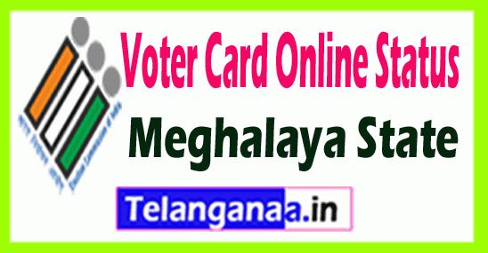 CEO Meghalaya Voter ID Status Online
