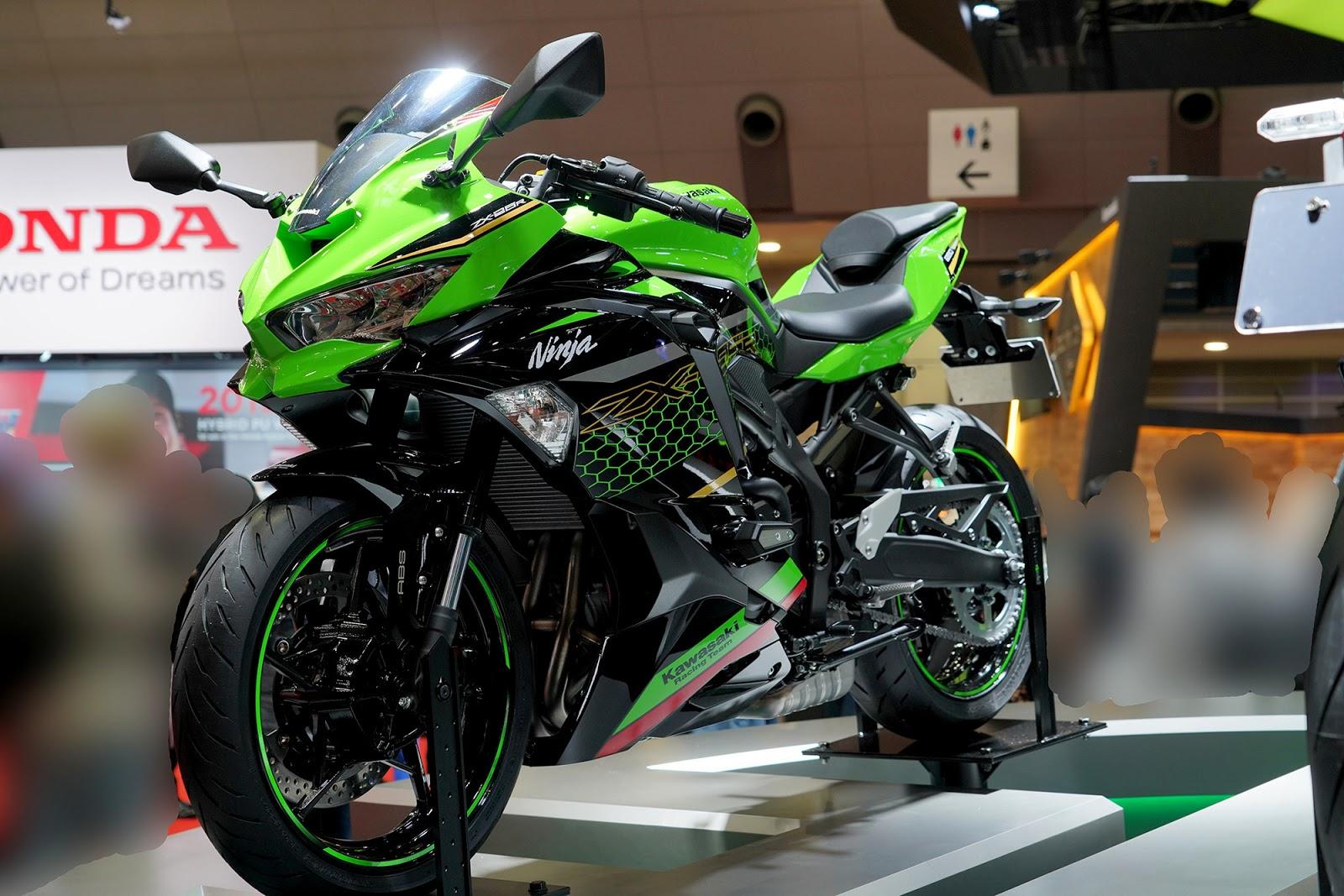 Kawasaki Ninja ZX25R sudah bisa di pesan, ini harga aslinya !
