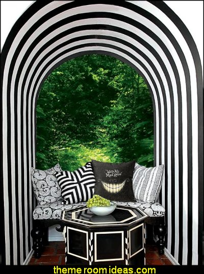 down the rabbit hole alice in wonderland bedroom decorating ideas