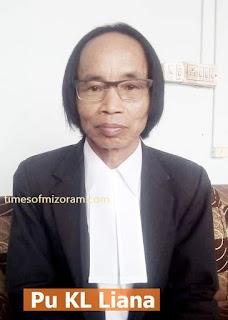 Mizoram advocate KL Liana