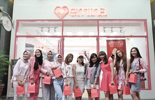 Grand Launching Independent Store Emina Ciwalk