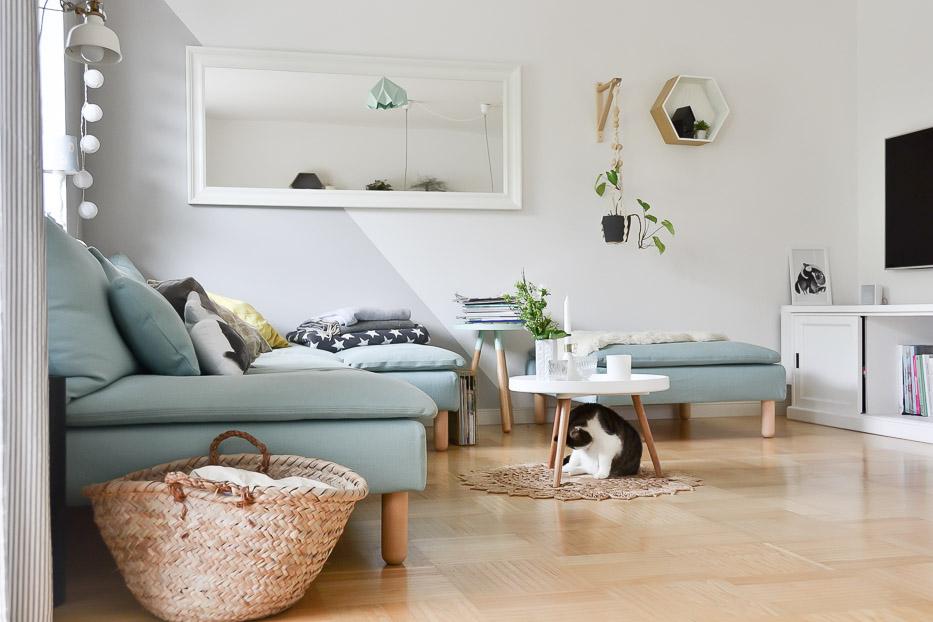 villa josefina wohnzimmer update. Black Bedroom Furniture Sets. Home Design Ideas