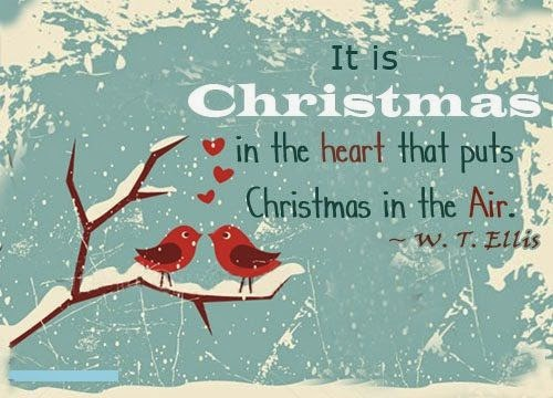 Christmas Quote, Inspirational Quote