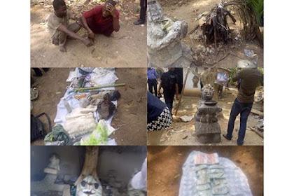 Ritualist Den Uncovered In Ekiti