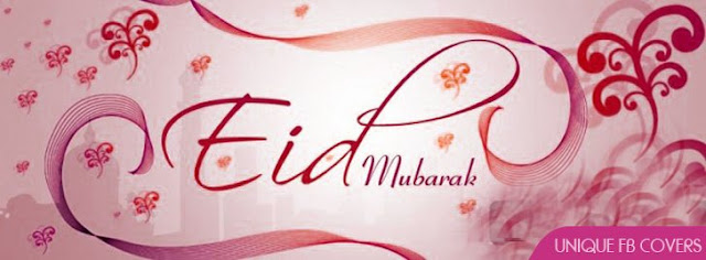 Eid Mubarak HD Cover Images Banners For Facebook