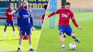 """El entrenador elogió a un Messi del que afirmó que """"es el mejor"""" e """"importantísimo"""" en su forma física"""