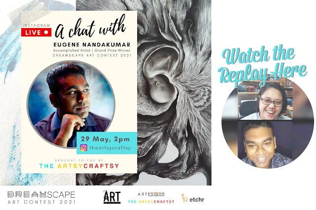 Artist Chat with Eugene Nandakumar, Accomplished Artist Grand Prize Winner of Dreamscape Art Contest 2021
