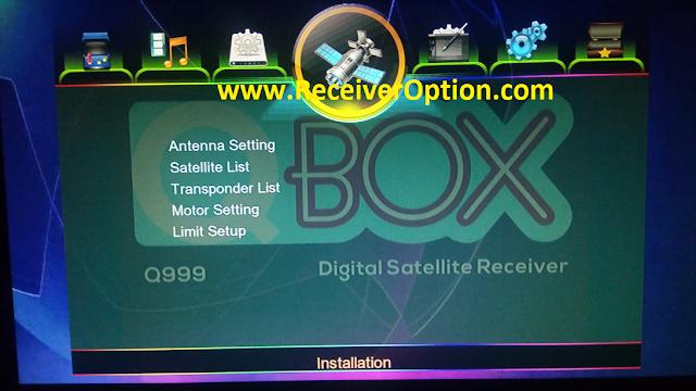 QBOX Q999 1507G 1G 8M NEW SOFTWARE WITH MR AUDIO & LIVE AUDIO OPTION