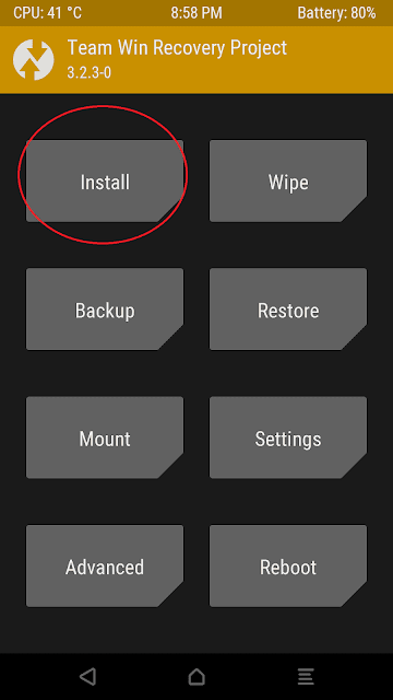 Cara Flashing/Install File Zip Melalui TWRP, Direct dan ADB Sideload