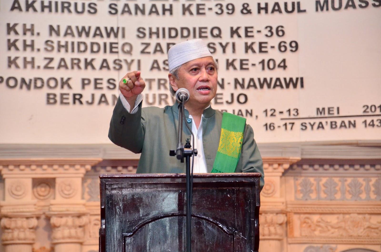 Uraian Hikmah Haul al-Mursyid al-Khalifah lit Thoriqah Qodiriyyah wa Naqsabandiyyah Berjan Purworejo
