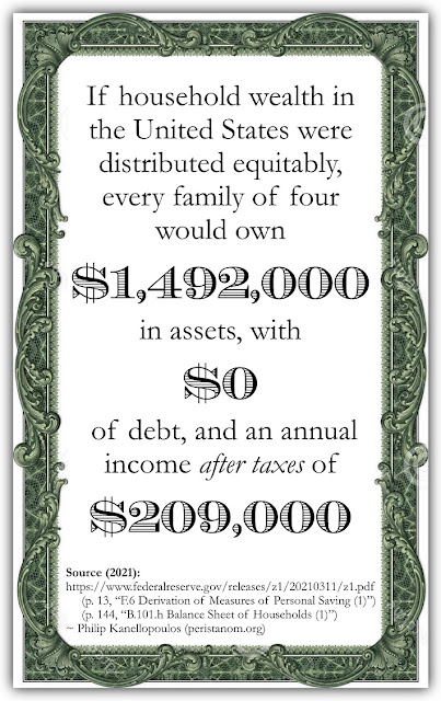 Statistics for Redistribution in the United States