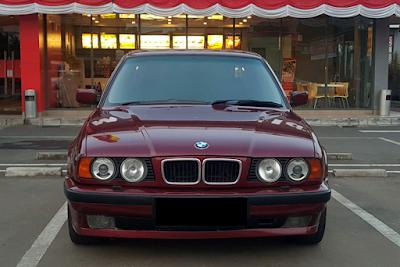 Eksterior BMW E34 Facelift