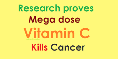 Research proves Mega dose Vitamin C Kills Cancer