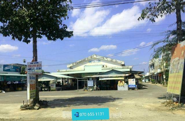 Bán lô đất 151m2 ngay chợ Tóc Tiên